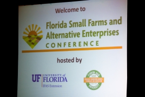 2012 Small Farms Conference.  UF/IFAS Photo by Tyler Jones.